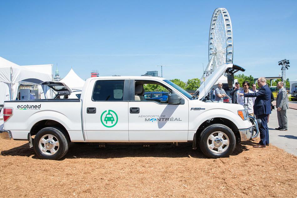 Aéroports de Montréal continues efforts to green its vehicle fleet (CNW Group/Aéroports de Montréal)