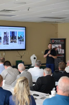 At the Hoover Police Department Security Summit, Mazin Bedwan, President, describes V5 Systems' efforts to put portable GSL in the hands of PDs.