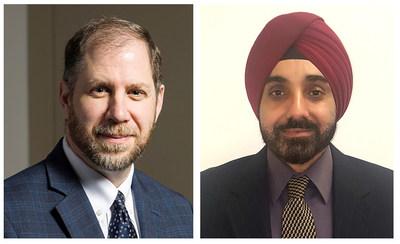 Salient CRGT: (L) Neal Smith and (R) Pramod Malhotra