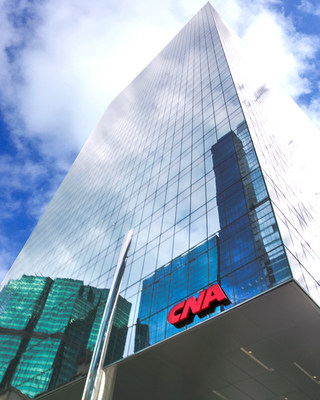 Today, June 1, 2018, marks the official opening of CNA Center — the new, modern global headquarters for more than 1,700 Chicago-based CNA employees, located at 151 North Franklin Street in Chicago's Loop business district.