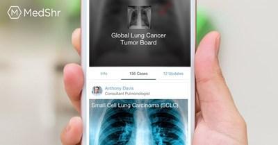Global Lung Cancer Tumor Board on MedShr (PRNewsfoto/MedShr)