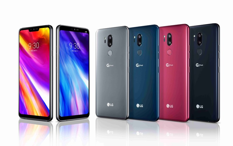 LG's NEW AI INTEGRATED FLAGSHIP SMARTPHONE, THE LG G7 ThinQ, IS NOW AVAILABLE IN THE U.S.