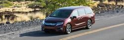 The 2019 Honda Odyssey is highlighted on Atlantic Honda's website.