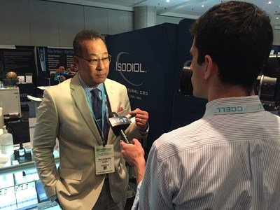Dr. Ronald Aung-Din was interviewed for TV on May 31, 2018 at Cannabis World Congress & Business Exposition