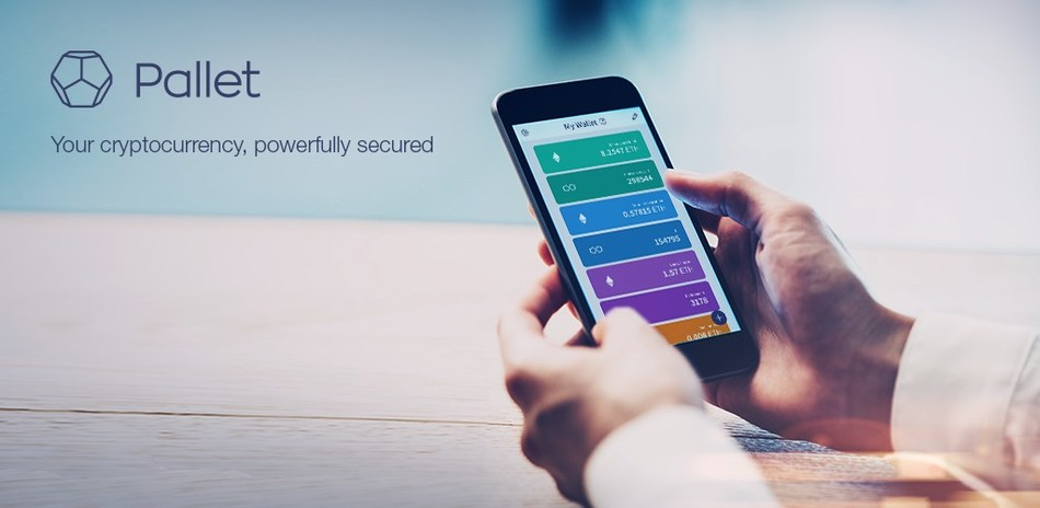 Pallet brings strong security capabilities to the average cryptocurrency user, with easy wallet creation and management.