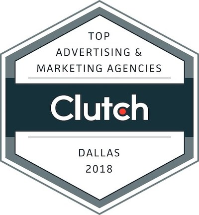 B2B ratings and reviews company Clutch announced the top advertising and marketing companies in Dallas in 2018