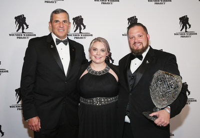 Last night, warriors and supporters were honored at the Wounded Warrior Project® (WWP) Courage Awards & Benefit Dinner® at Gotham Hall.