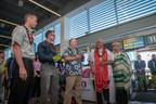 Hawaiian Airlines Celebrates New Long Beach Service