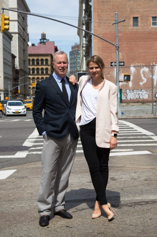 NYC - June, 2018 - (from L- R - Olga Vidisheva, founder, along with new COO Jamie Karson) Jamie Karson, former CEO of Steve Madden, Joins Shoptiques as COO -- He Teams Up with founder Olga Vidisheva to support Shoptiques Rapid Growth and Expansion. The powerful new alliance combines Karson's decades of experience, building the billion dollar Steve Madden business, with Vidisheva's visionary fashion platform.