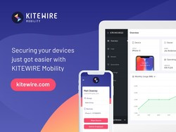 KITEWIRE Mobility manages phones, tablets and laptops.
