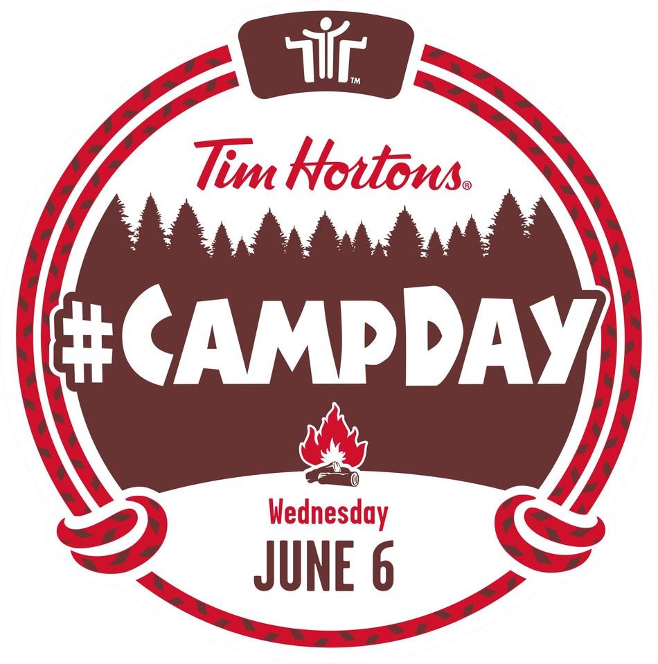 Tim Hortons #CampDay Wednesday June 6 (CNW Group/Tim Hortons)