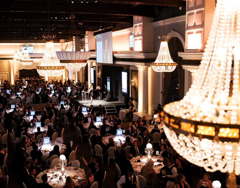 The 4th Wealth Professional Awards ceremony welcomed over 500 of Canada's top advisors and wealth professionals to honour and showcase the gold standard in Canadian wealth management. (CNW Group/Wealth Professional Canada)