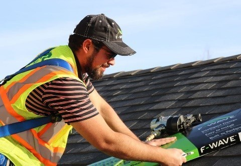 F-Wave Celebrate National Roofing Week