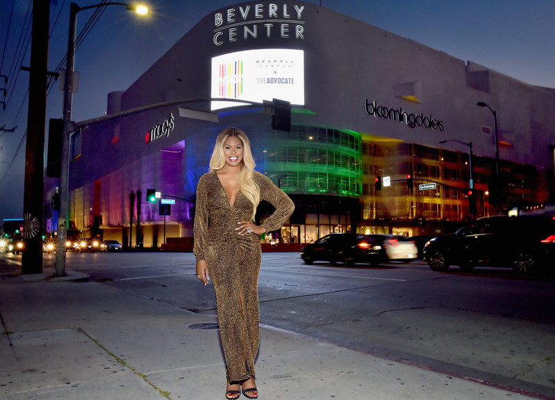 Laverne Cox Celebrates PRIDE at Beverly Center