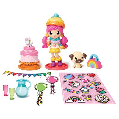Spin Master Launches Party Popteenies, an All New Line of Party-themed Collectibles (CNW Group/Spin Master)