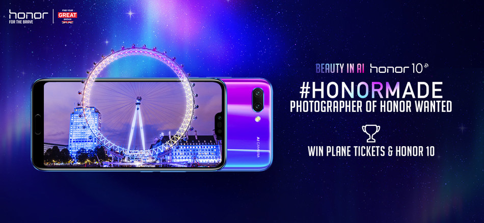 AIMAZING Journey by Honor and VisitBritain