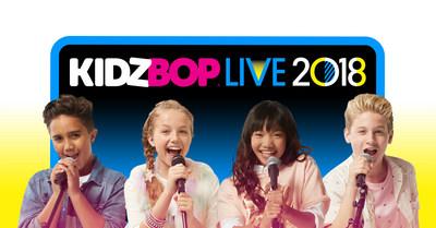 "KIDZ BOP And Live Nation Extend ""KIDZ BOP Live 2018"" North American Tour"