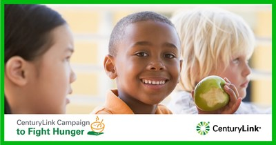 By donating through this drive, donors will help food banks earn matching dollars from the CenturyLink Clarke M. Williams Foundation.