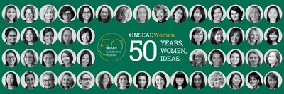 ?50 Years, 50 Women, 50 Ideas' represents 50 years of progress promoting gender diversity and 50 big ideas from its 50 notable female scholars