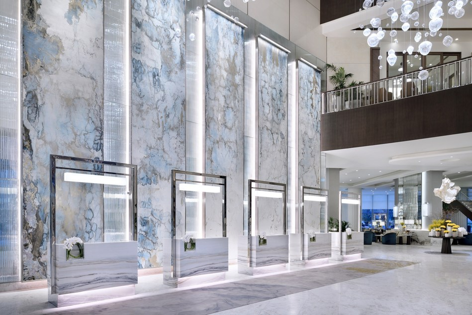 Address Downtown by Emaar Hospitality Group (lobby) (PRNewsfoto/Emaar Hospitality Group)