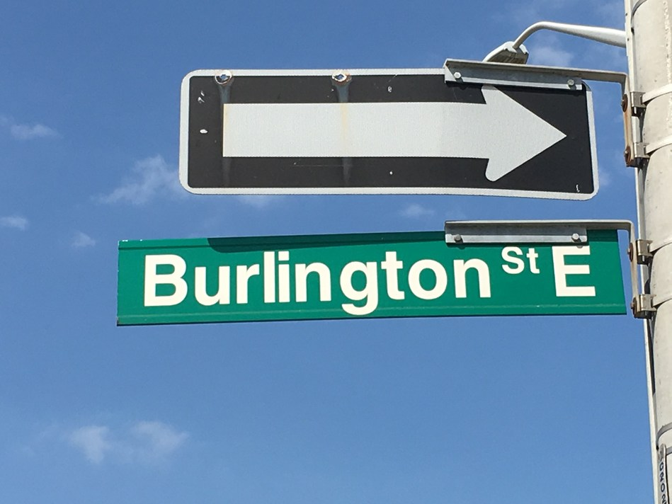 Burlington Street East has appeared on CAA's Top 10 list more than any other road in campaign history, and returns as the #1 road in Ontario for the second consecutive year. (CNW Group/CAA South Central Ontario)