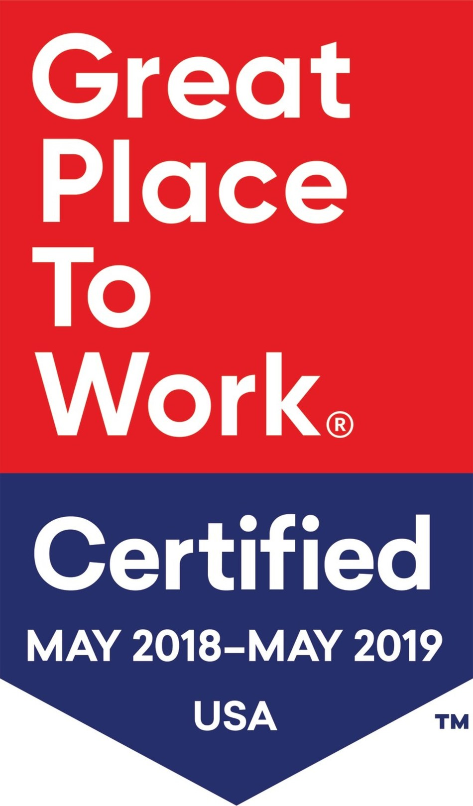 Great Places to Work certification logo