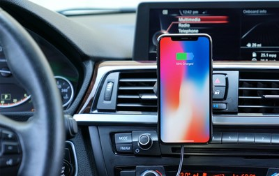 HoverCharge is the world's first 3-in-1 wireless phone charger which holds your phone without any cradles or magnets.