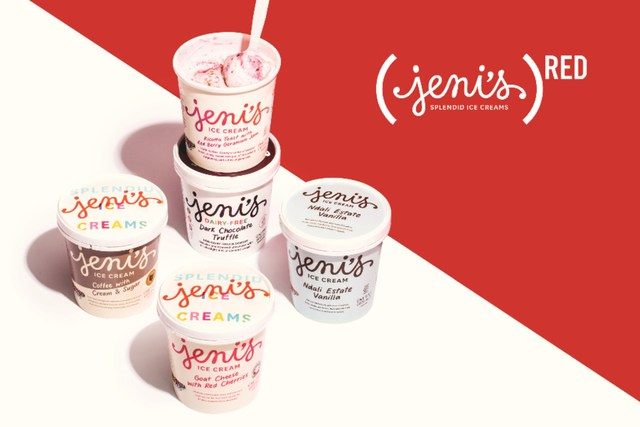 Jeni's Splendid Ice Cream special (RED) Collection now available nationwide