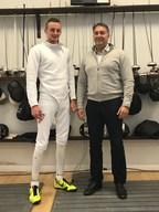 British Fencing Announces Imperium Investments Grant for British Fencer Harrison Nichols