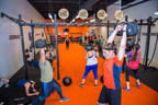 Tough Mudder Bootcamp grand opening celebration attendees of all fitness levels sample the new 45 minute high-intensity functional fitness workout at the flagship location in Burlington, Mass.