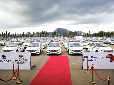 150 unidades del modelo GA3S en la ceremonia de entrega (PRNewsfoto/GAC Motor)