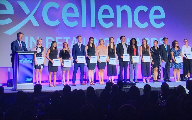 Recipients of Retail Council of Canada's 2018 Retail as a Career Scholarships (CNW Group/Retail Council of Canada)
