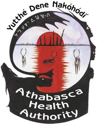 Logo : Athabasca Health Authority (AHA) (Groupe CNW/Société canadienne d'hypothèques et de logement)