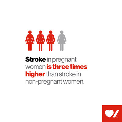 Stroke in pregnant women is three times higher than stroke in non-pregnant women (CNW Group/Heart and Stroke Foundation)