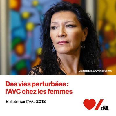Lisez le Bulletin sur l'AVC 2018 de Coeur + AVC : coeuretavc.ca/bulletinAVC (Groupe CNW/Fondation des maladies du coeur et de l'AVC)