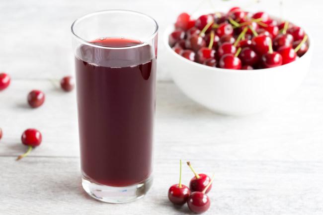 Montmorency tart cherry juice