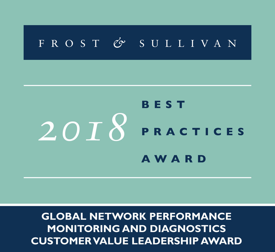 VIAVI Solutions recognized as Customer Value Leader in Network Performance Monitoring and Diagnostics by Frost & Sullivan