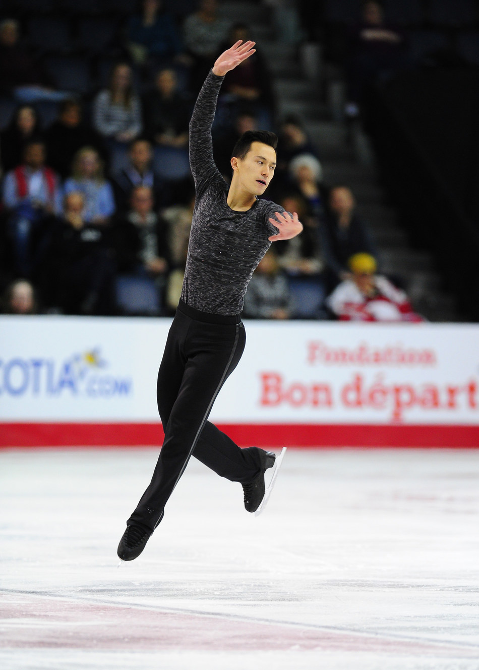 Patrick Chan. Photo credit: Skate Canada (CNW Group/Round Room Live, LLC)