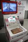 Oakland International Airport debuted two Hands-Only CPR training kiosks. A kiosk supported by Anthem Blue Cross Foundation is located near Gate 8, Terminal 1. The second kiosk supported by Chevron Corporation is near Gate 27, Terminal 2.