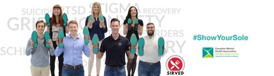Sirved is teaming up with the Canadian Mental Health