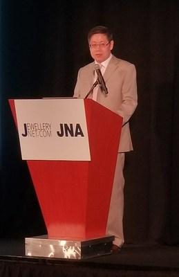 Mr. Julius Zheng, Vice President of the Shenzhen Rough Diamond Exchange