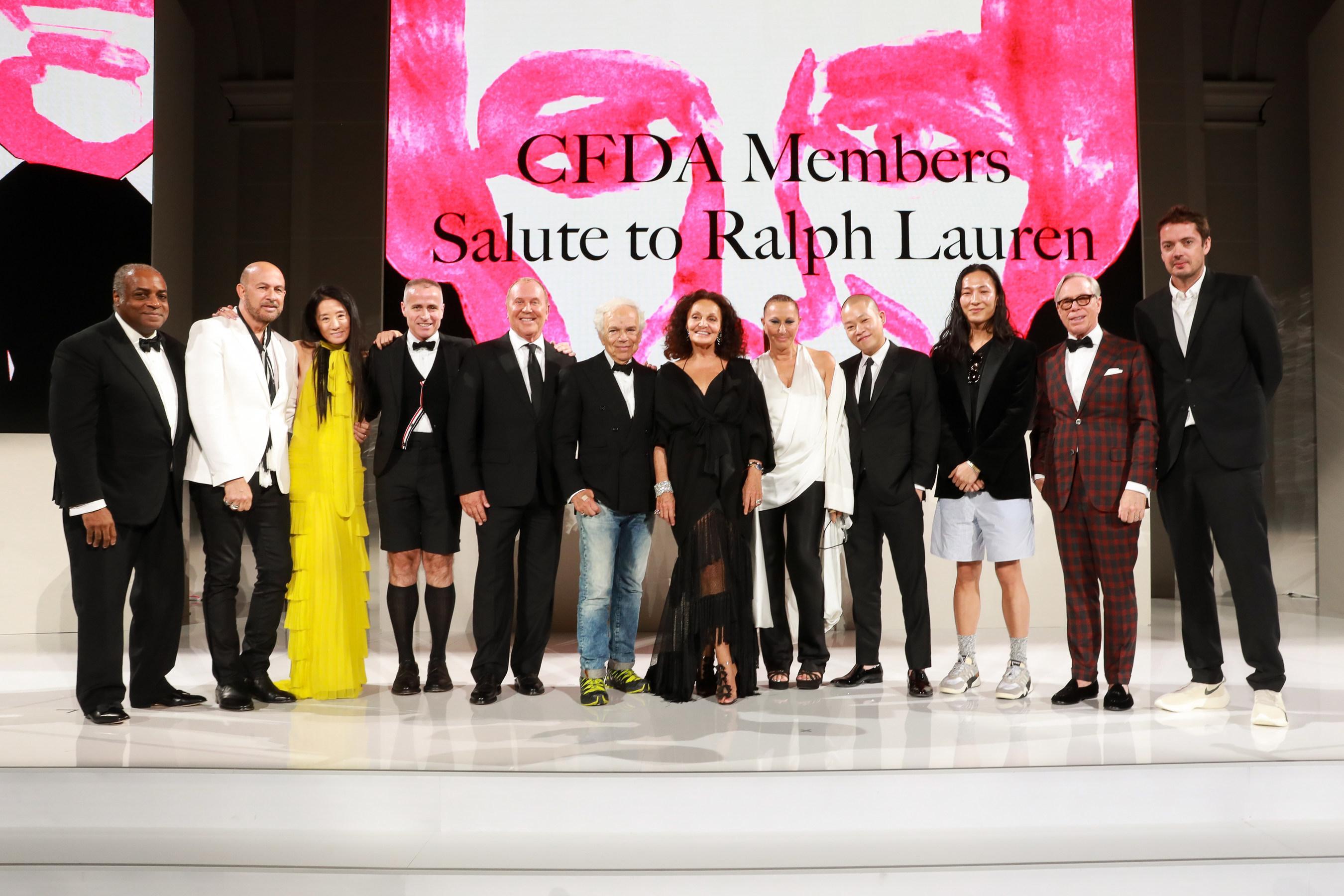 Winners Announced At The 2018 Cfda Fashion Awards In Partnership With Swarovski