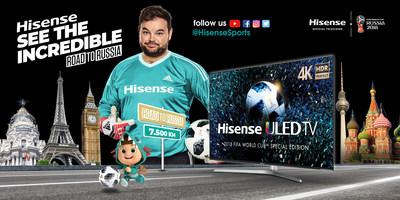 Hisense See the Incredible Tour