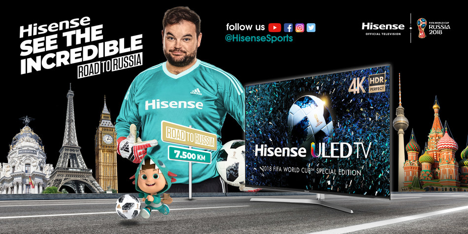 Hisense See the Incredible Tour