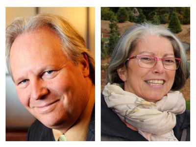 Les architectes paysagistes Jean-François Rolland et Malaka Ackaoui, récipiendaires du prix Frederick-Todd. (Groupe CNW/Association des architectes paysagistes du Québec (AAPQ))