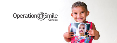Share a smile this summer! (CNW Group/Operation Smile Canada)
