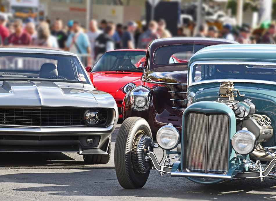 SEMA Ignited in Las Vegas is one of the many automotive events users will find listed on the new App.