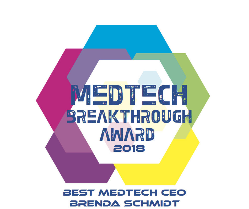 "Solera Health Founder and CEO Brenda Schmidt has been recognized as the ""Best MedTech CEO"" by the 2018 MedTech Breakthrough Awards."