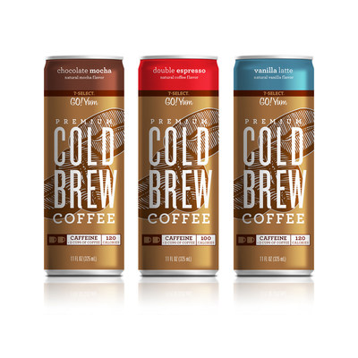 7-Select GO!YUM Cold Brew Coffee: Design by Brandimage