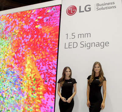 Led by Industry-Pioneering LG Direct View LED and LG OLED Commercial Displays, Company Spotlights Best-in-Class Digital Signage Portfolio with Innovative Technologies